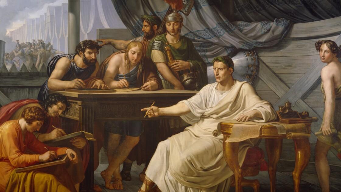Les mémoires de Jules César : des écrits tout à sa gloire
