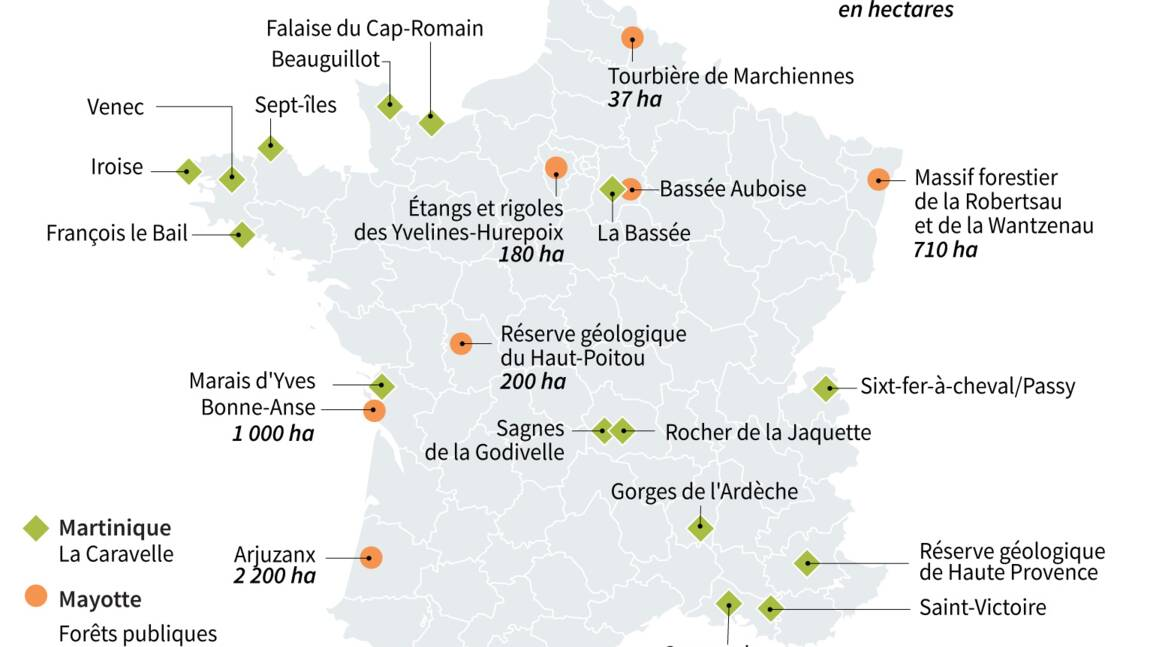 En France, de nouvelles réserves naturelles pour aller vers 30% d'aires protégées