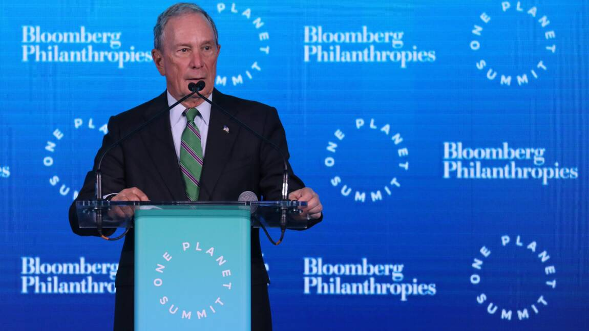 Climat: le milliardaire new-yorkais Bloomberg investit 500 millions de dollars