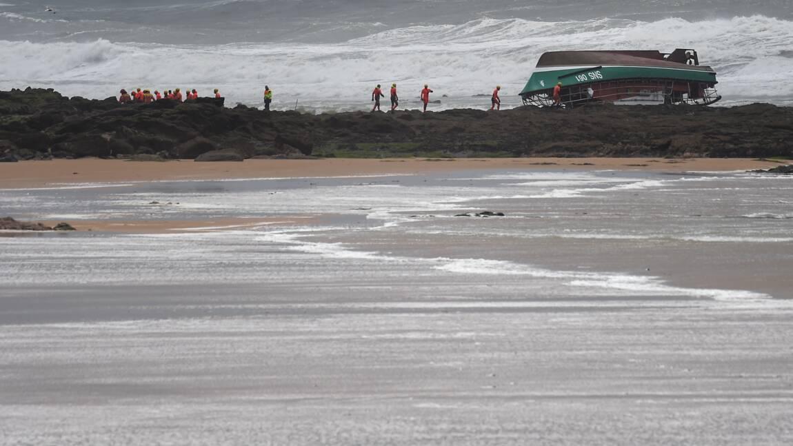 Tempête Miguel: trois morts sur une vedette de la SNSM au large des Sables-d'Olonne