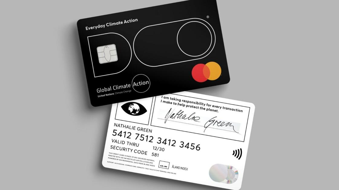 En Suède, une carte de crédit permet de calculer l'empreinte carbone de chaque achat