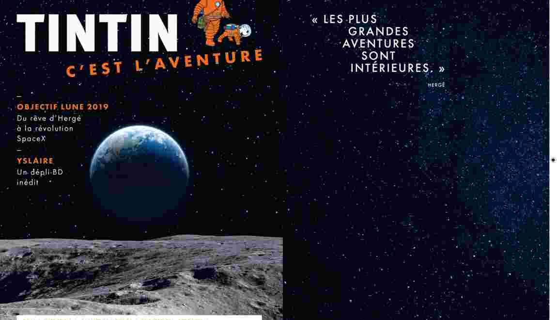 Tintin, c'est l'aventure : la nouvelle revue pour parcourir le monde d'aujourd'hui