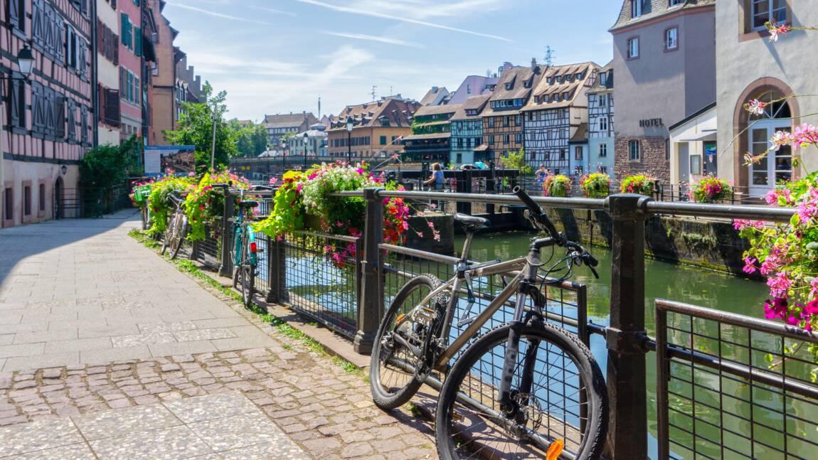 Strasbourg, Tours, Nantes... : ces villes françaises où il fait bon pédaler