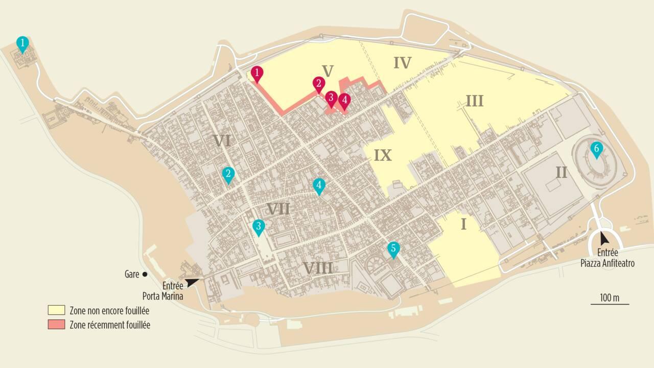 Pompéi : 10 sites fantastiques pour les archéologues