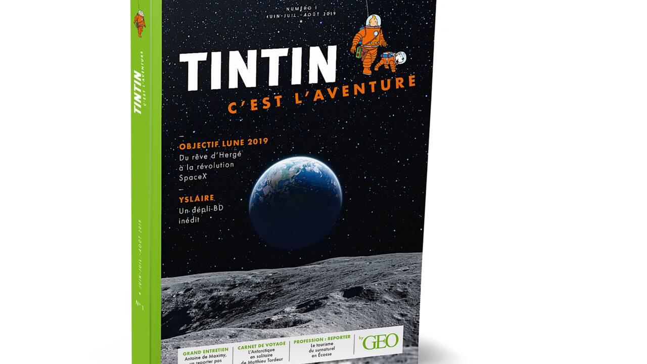 Tintin, c'est l'aventure : le nouveau mook qui incarne l'esprit d'aventure