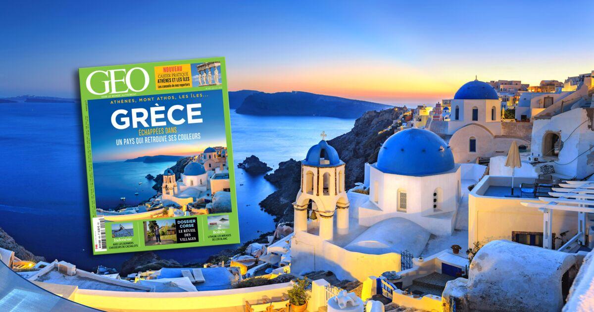 La Grèce dans le nouveau magazine GEO