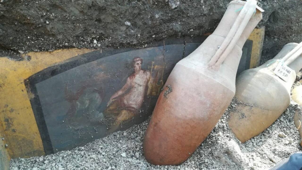 A Pompéi, de nouveaux trésors découverts sous les cendres