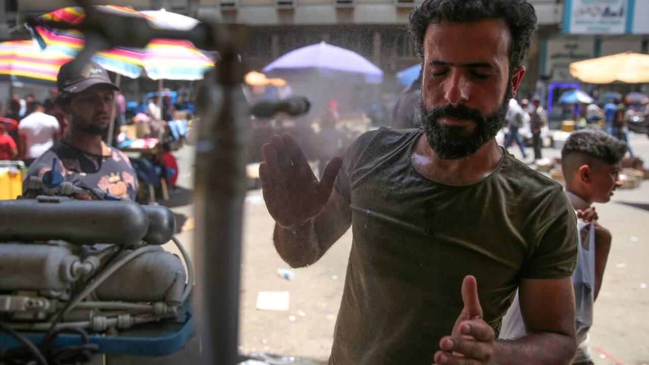 Avec la canicule précoce, il y a de l'électricité dans l'air en Irak