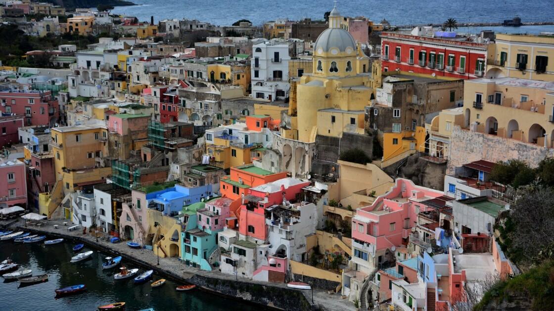 Italie : cap sur Procida, l'île enchantée du golfe de Naples