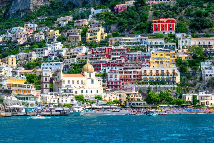 Positano : les criques secrètes à bord d'un gozzo