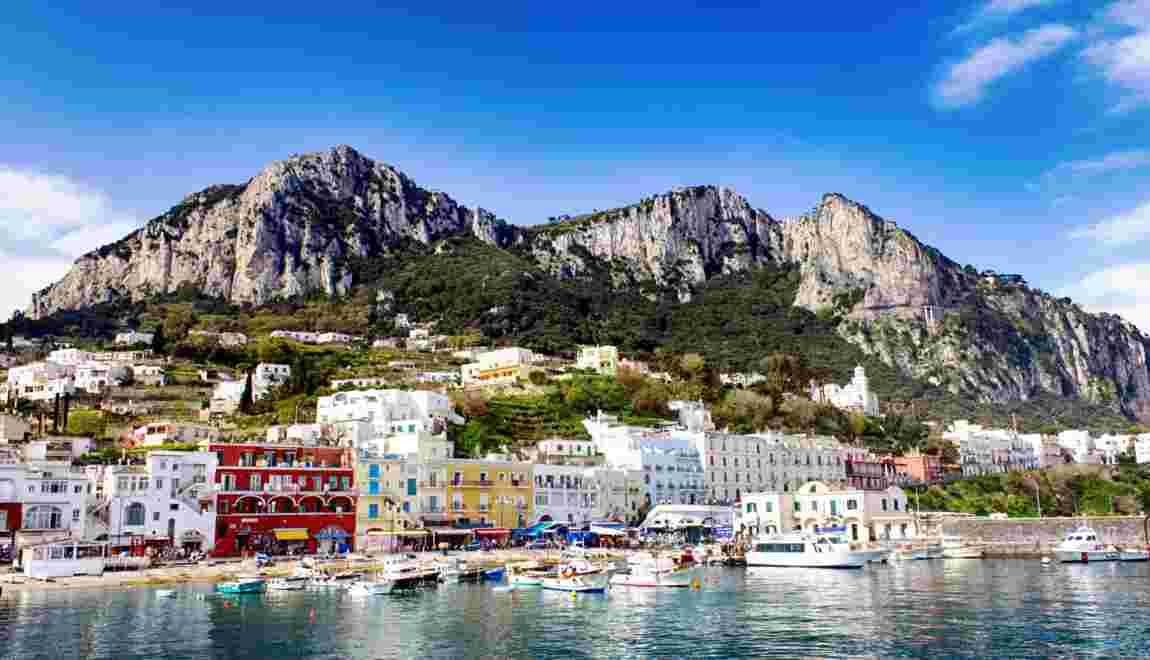 Escale à Capri, cette petite île devenue légende