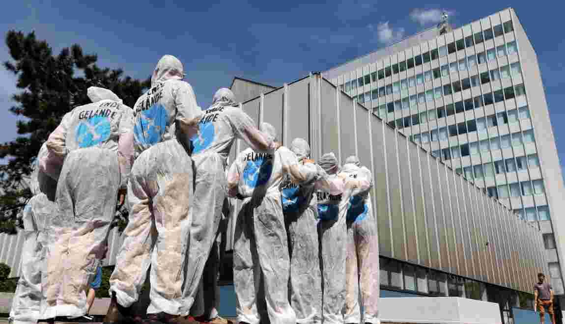 """La """"génération climat"""" converge vers la Ruhr allemande pour une action anti-charbon"""