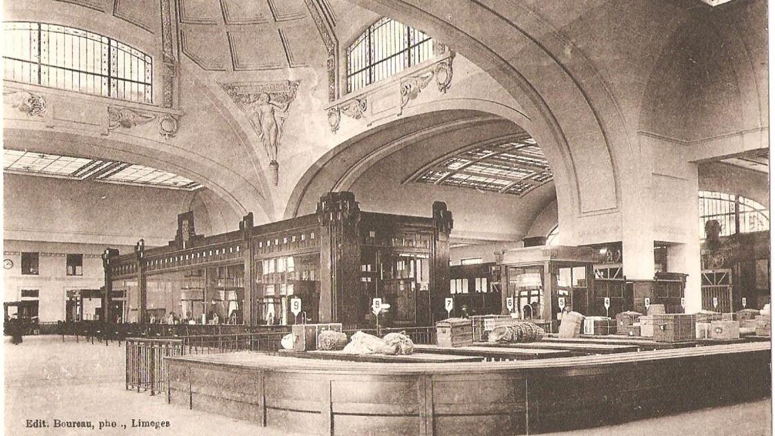Cachés pendant 40 ans, les trésors Art déco de la gare de Limoges vont être restaurés puis réinstallés