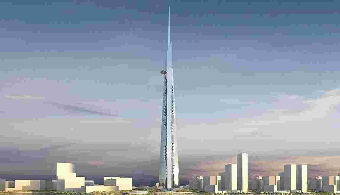 Jeddah Tower : la ville de demain donne le vertige