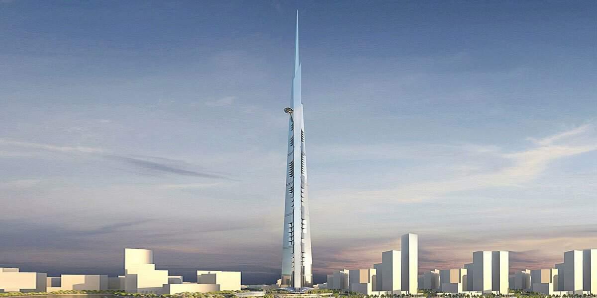 1. La Jeddah Tower en Arabie saoudite avec 1 001 mètres de hauteur (2020)