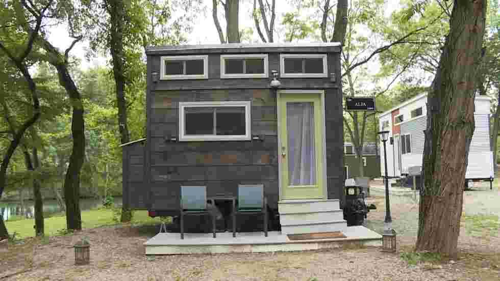 """""""Tiny Houses"""" : le boum des mini-maisons aux Etats-Unis"""