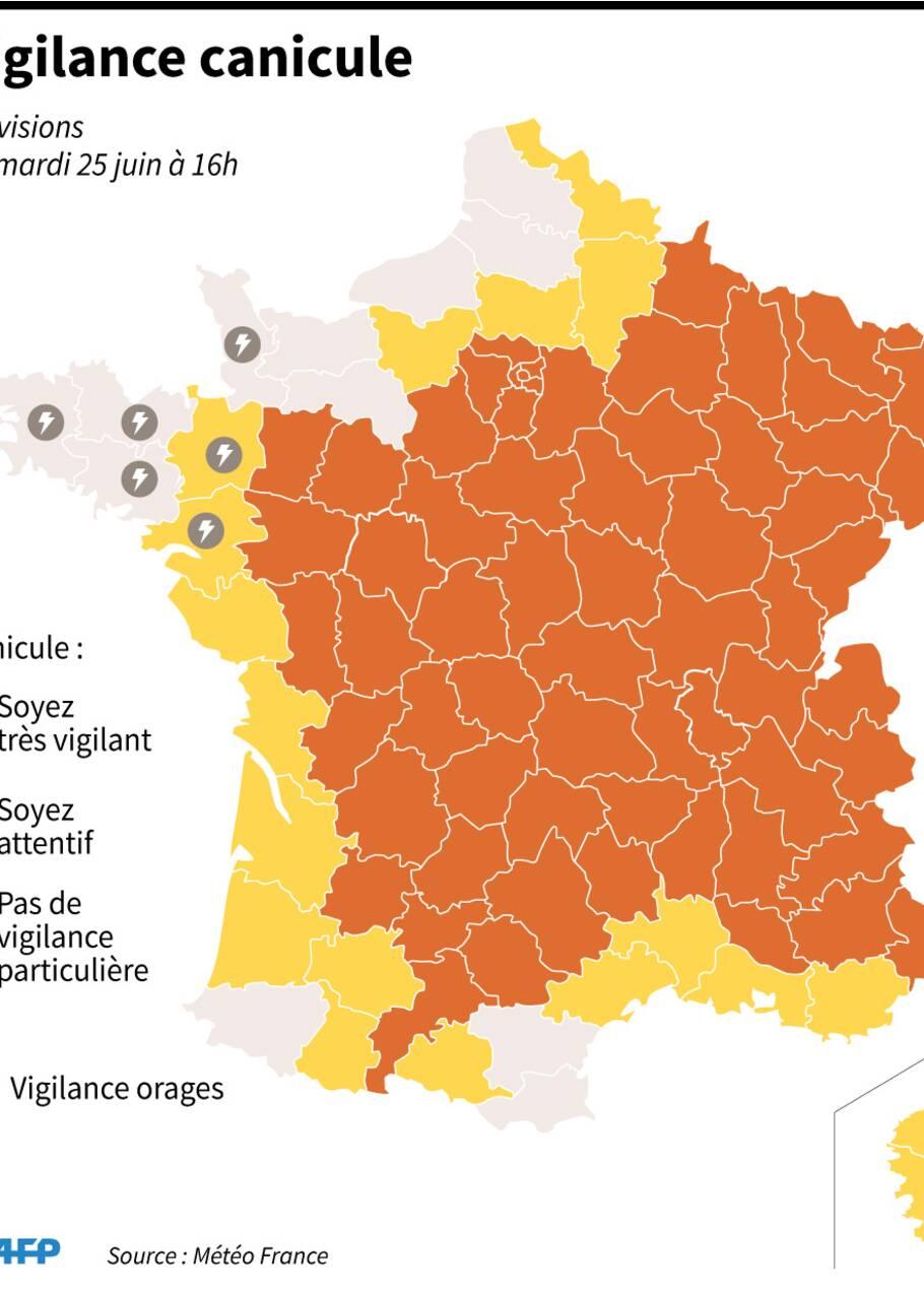 La France a chaud, mais le pire est à venir
