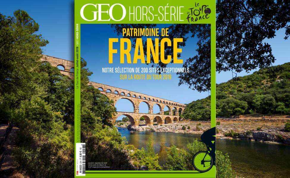 GEO fait sont Tour de France du patrimoine