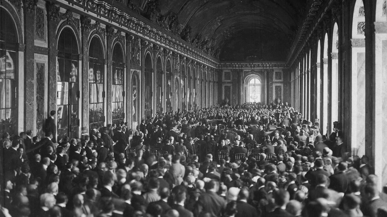 Traité de Versailles: ces plats qui ont mis fin à la Grande Guerre…
