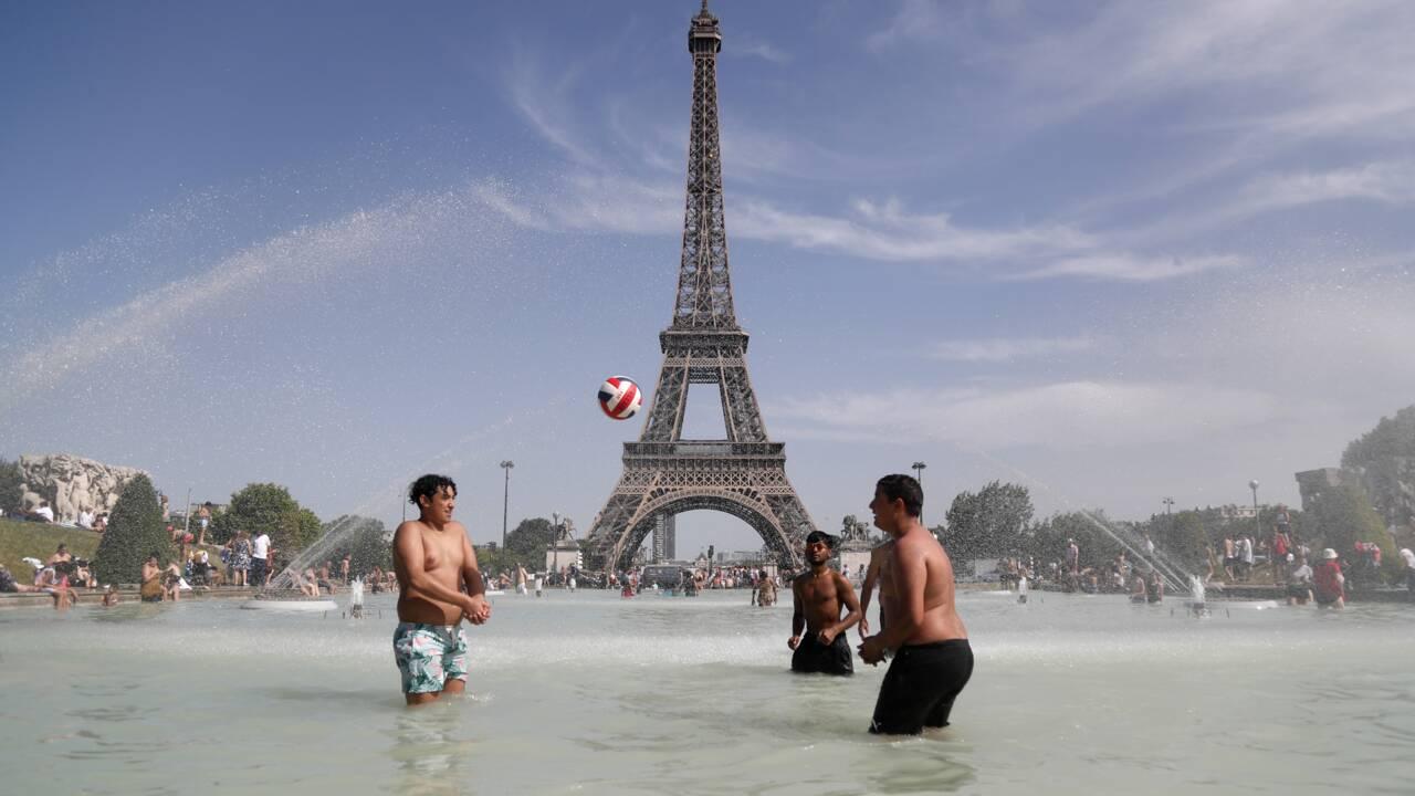 Canicule: vigilance rouge levée samedi, la France suffoque encore