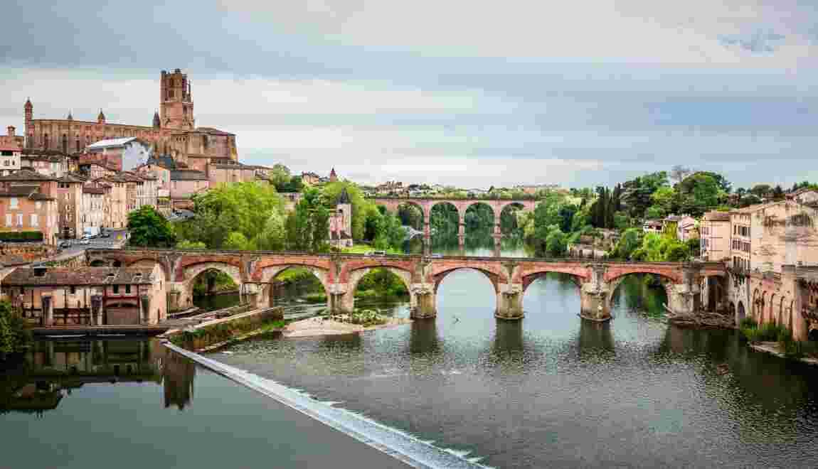 Albi, le havre rouge de Toulouse-Lautrec