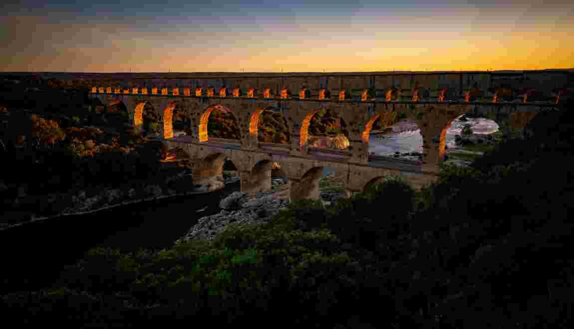 Le pont du Gard, 2000 ans d'histoire