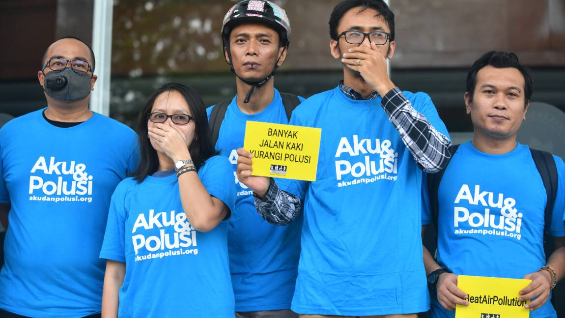 Excédés par la pollution, des habitants de Jakarta poursuivent le gouvernement