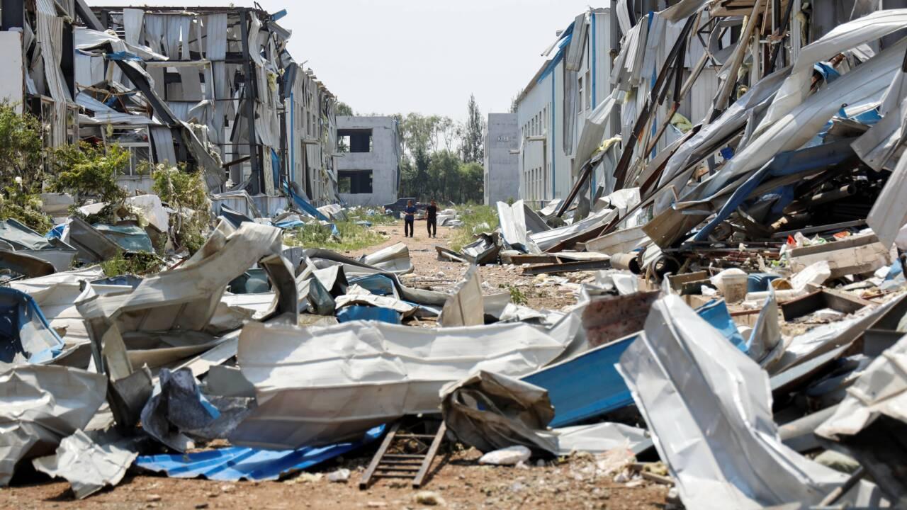 Une tornade frappe la Chine: 6 morts et près de 200 blessés