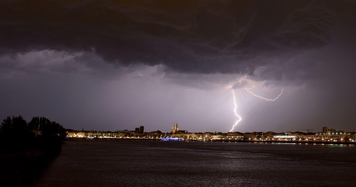 Fin d'alerte aux orages pour neuf départements du sud-ouest