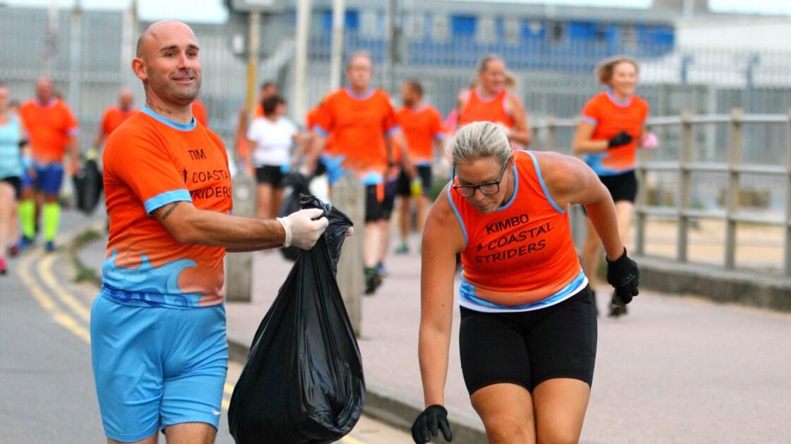 Le plogging, l'initiative écolo qui séduit les sportifs