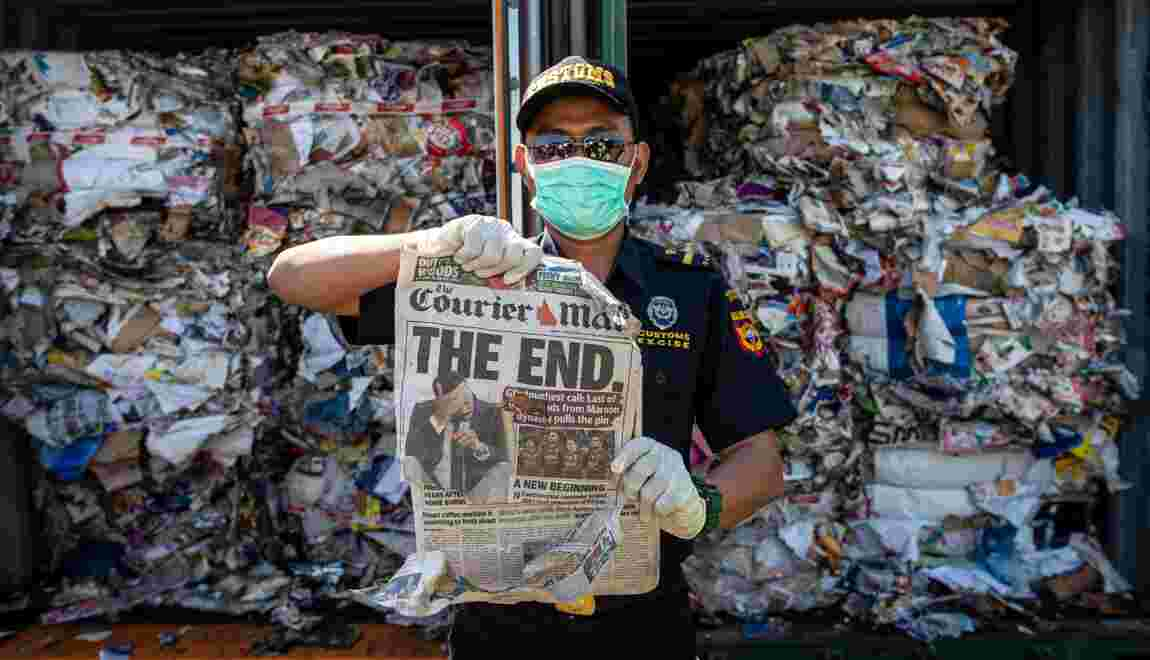 Conteneurs de déchets: l'Indonésie intensifie les retours à l'envoyeur