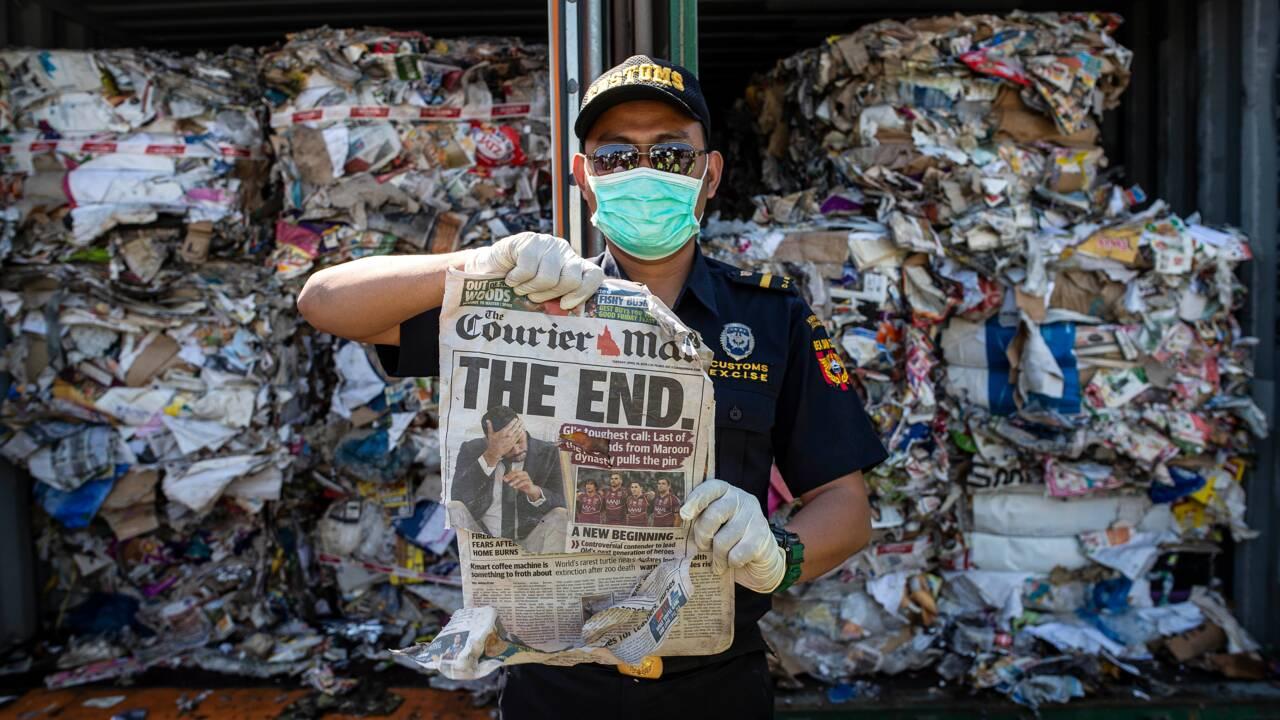 L'Indonésie va renvoyer 210 tonnes de déchets à l'Australie