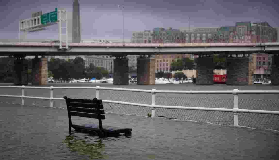 Etats-Unis: touché par un violent orage lundi, Washington prend la mesure des dégâts
