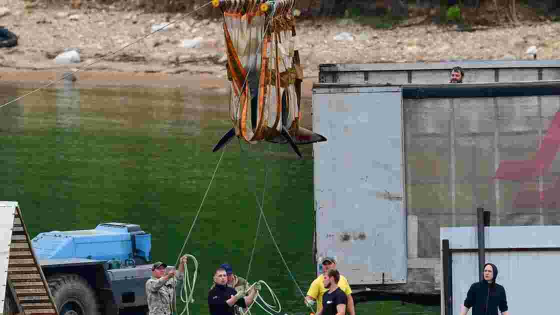 Russie : trois orques en captivité transportés en vue de leur libération