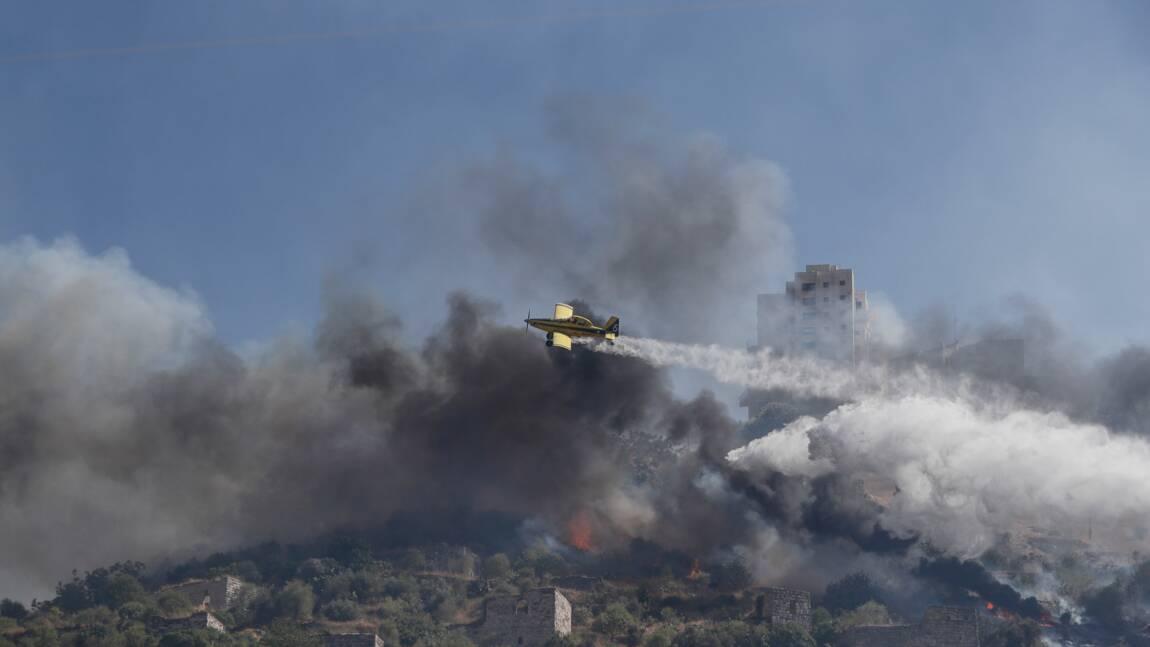 Israël: record de chaleur et multiplication des incendies