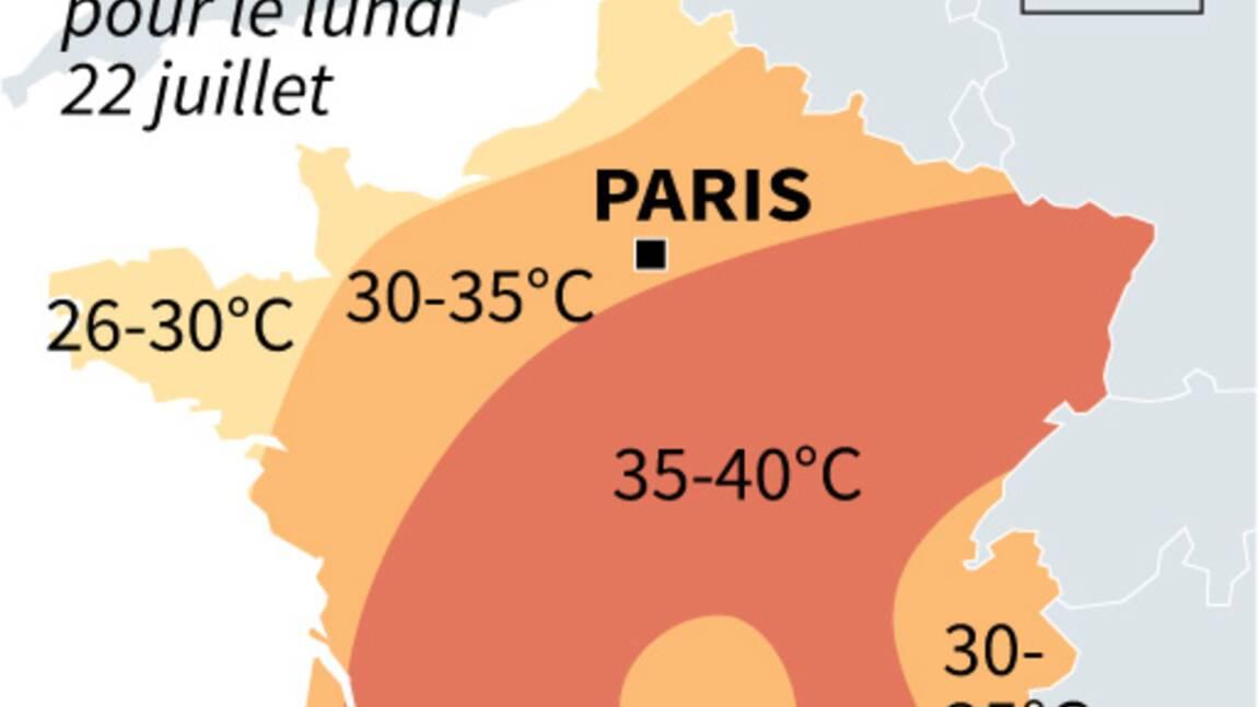 Le nouvel épisode caniculaire prévu pour durer quelques jours, prévient Météo-France