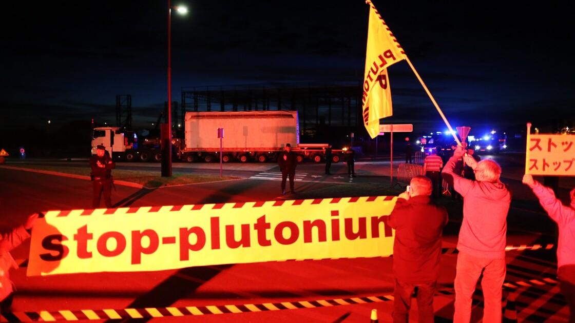 Greenpeace interdit de s'approcher des convois de matières radioactives