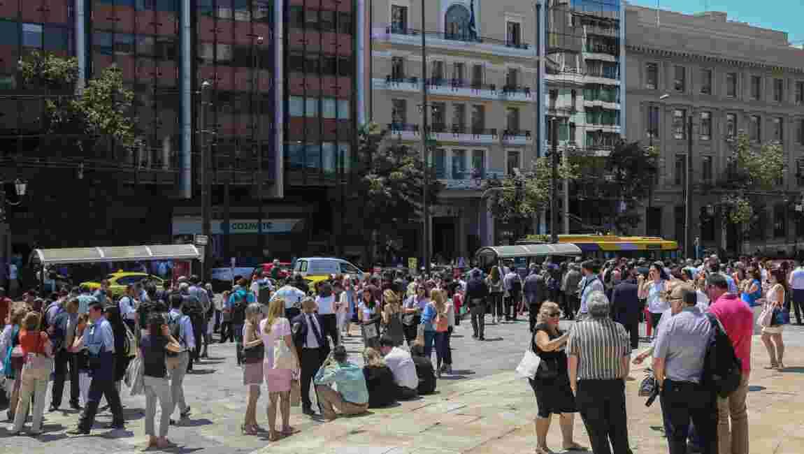 Grèce: un séisme de magnitude 5,1 secoue Athènes