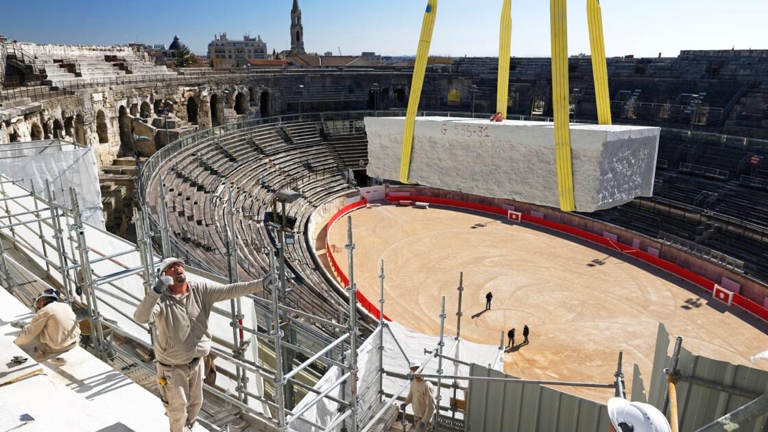 Arènes de Nîmes : immersion dans les coulisses d'un chantier colossal