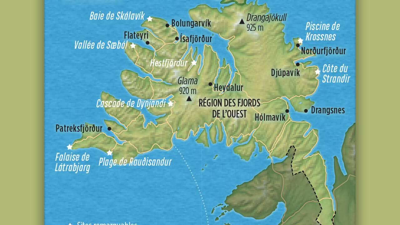 Islande sauvage : à la découverte des Fjords de l'Ouest