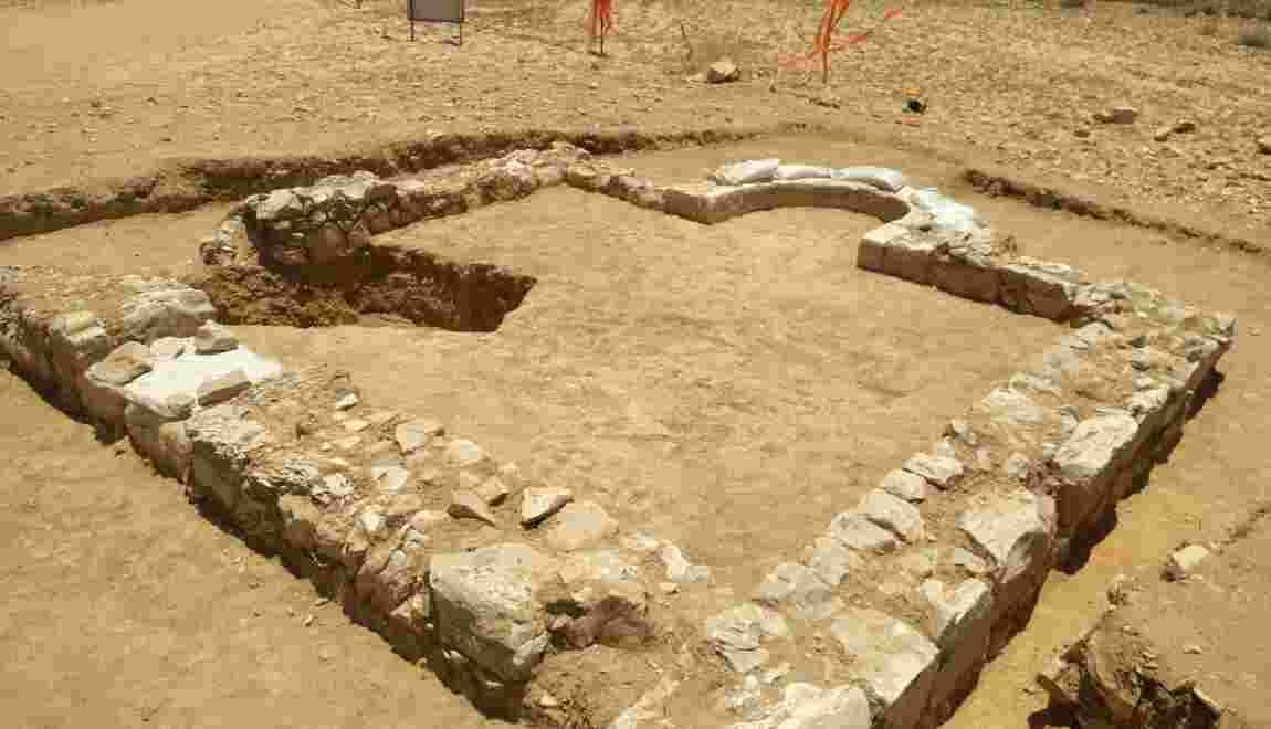 Une mosquée datant de l'ère byzantine découverte en Israël