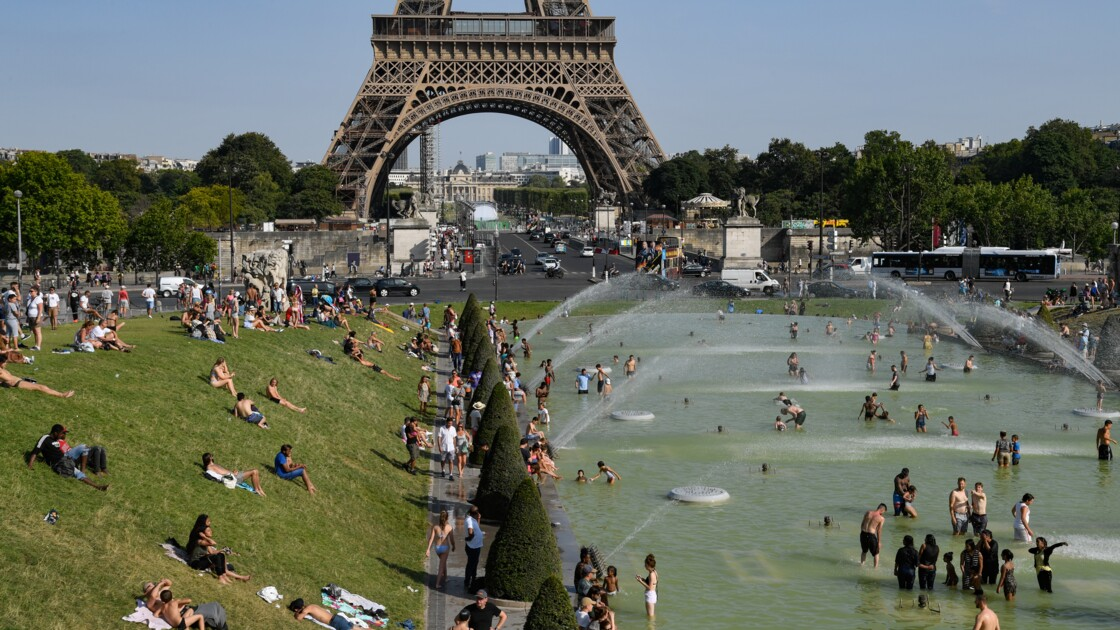 Températures record et alerte rouge en Europe occidentale