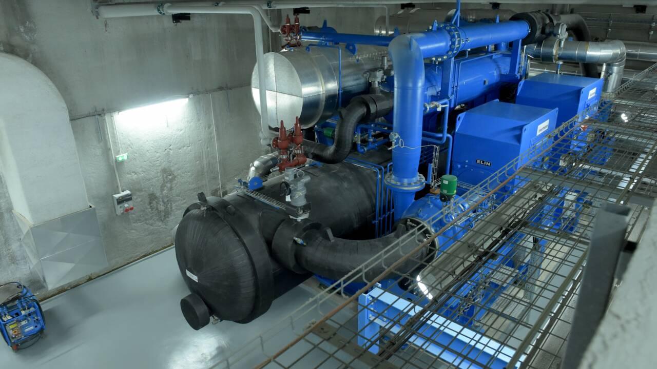 Des tuyaux d'eau glacée sous les villes, alternative à la clim