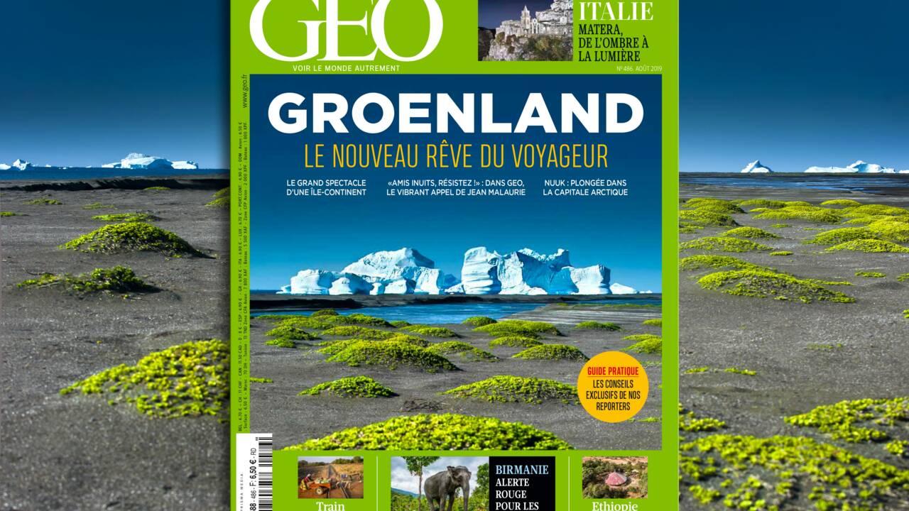 Le Groenland dans le nouveau magazine GEO