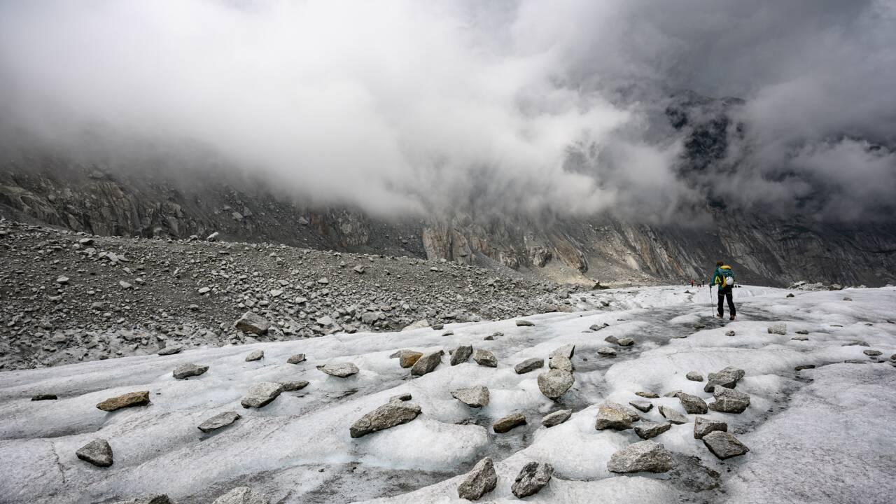 Mont-Blanc : la Mer de Glace, splendeur et grisaille