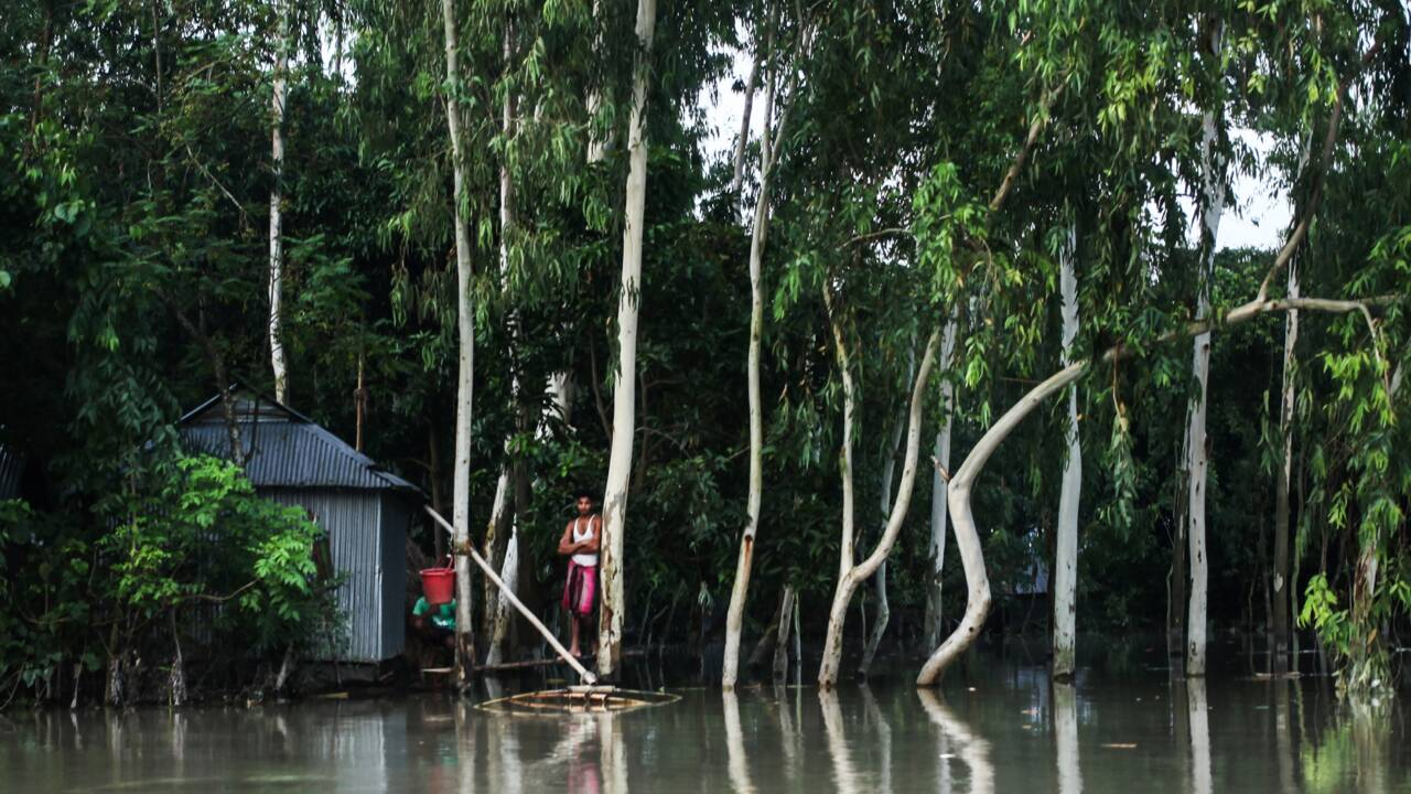 Bangladesh : plus de cent morts du fait de la mousson
