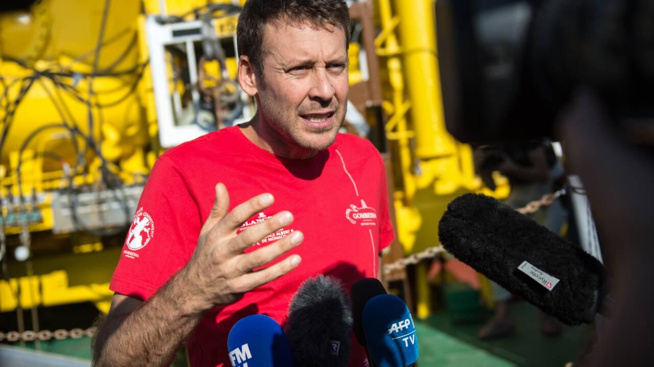 """""""Planète Méditerranée"""" : retour à l'air libre après 28 jours par 120 m de fond"""