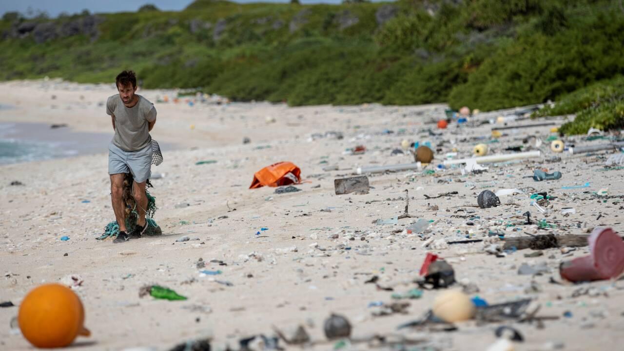 Les déchets plastiques des océans viennent beaucoup des navires