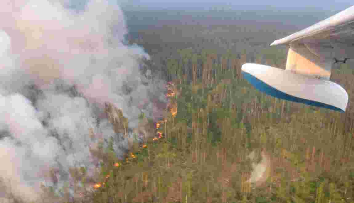 Feux de forêt en Sibérie: Trump propose son aide à Poutine