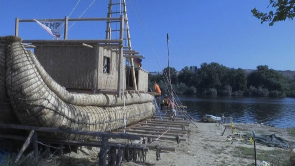 Des chercheurs reconstituent une nef en roseaux pour traverser la Méditerranée comme il y a 4 000 ans